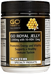 Go Royal Jelly 1000mg 10 Hda 12 Capsules 180 Health Delivery