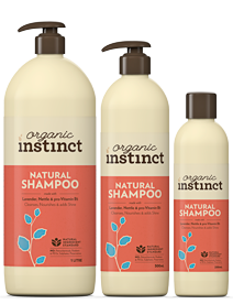 Natural Instinct Natural Shampoo 250ml Health Delivery